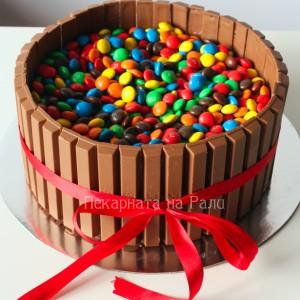 Kit Kat торта