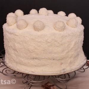 Raffaello Rainbow торта