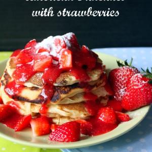Американски палачинки с ягоди