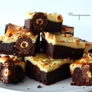 Ferrero Rocher чийзкейк брауни