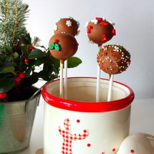 Коледни Cake Pops