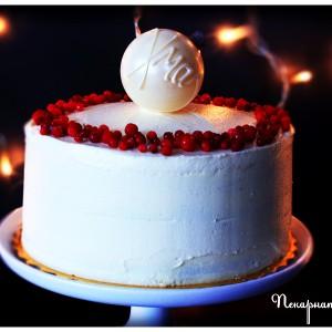 "Торта ""Червена боровинка"""