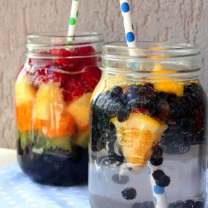 Газирана плодова вода